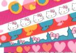 �n���[�L�e�B�~���o�e�B�A�[�g�t�@�u���b�N�`Season3�`��Half Moon Hello Kitty��DC27908-12A