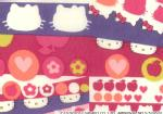 �n���[�L�e�B�~���o�e�B�A�[�g�t�@�u���b�N�`Season3�`��Half Moon Hello Kitty��DC27908-12C