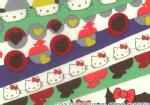 �n���[�L�e�B�~���o�e�B�A�[�g�t�@�u���b�N�`Season3�`��Half Moon Hello Kitty��DC27908-12D