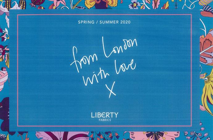 2020年春夏シーズン柄「FROM LONDON WITH LOVE(フロム・ロンドン・ウィズ・ラブ)」