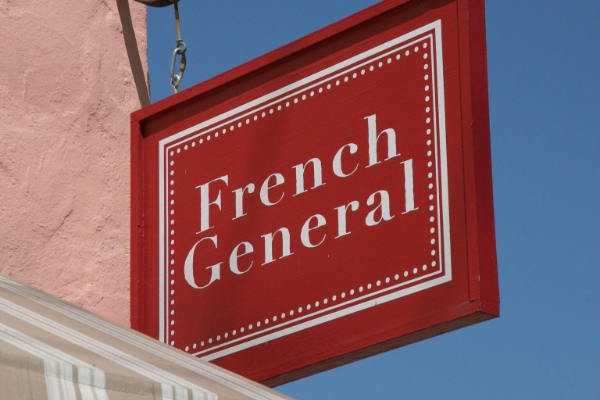 FrenchGeneralの看板
