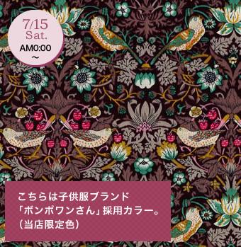 子供服ブランド「ボンポワンさん」採用カラー(当店限定色) 3635061-J17F