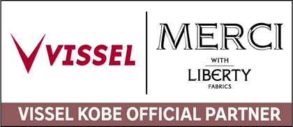 MERCIはヴィッセル神戸オフィシャルパートナーです