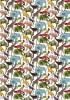 《メルシー限定復刻カラー》【2015年秋冬追加柄】LIBERTYリバティプリント・タナローン国産生地 <Queue for the Zoo>(キューフォーザズー)3634160-14C