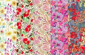 2016年春夏追加柄『ヘリテージコレクション』-大きい花柄(1)