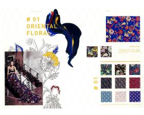 #01 ORIENTAL FLORAL – リバティプリント2016年秋冬柄デザインストーリー