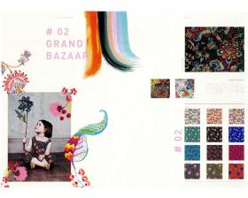 #02 GRAND BAZAAR – リバティプリント2016年秋冬柄デザインストーリー