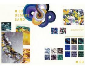 #03 DESERT SAND – リバティプリント2016年秋冬柄デザインストーリー
