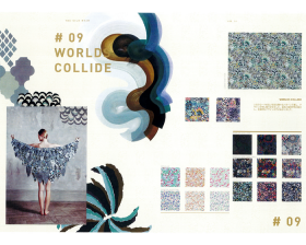#09 WORLDS COLLIDE – リバティプリント2016年秋冬柄デザインストーリー