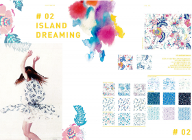 #02 ISLAND DREAMING  – リバティプリント2017年春夏柄デザインストーリー