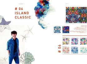 #06 ISLAND CLASSIC – リバティプリント2017年春夏柄デザインストーリー