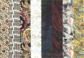 #03 捺染と染色 Printing and Dyeing ―リバティプリント2012年秋冬柄