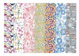 #02 サード・フロア 3階(日本の4階) ―リバティプリント2014年春夏柄