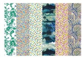 #03 セカンド・フロア 2階(日本の3階) ―リバティプリント2014年春夏柄