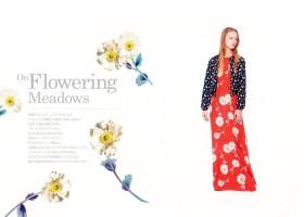 #01 On Flowering Meadows 「オン・フラワリング・メドウ」 2018年春夏柄