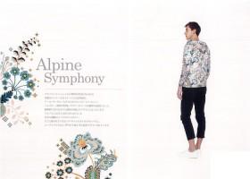 #02 Alpine Symphony 「アルパイン・シンフォニー」 2018年春夏柄