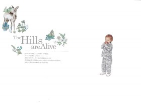 #07 The Hills are Alive「丘は生きている」 2018年春夏柄