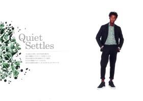 #09 Quiet Settles「クワイエット・セトルズ」 2018年春夏柄