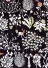 【メルシーオリジナルカラー】LIBERTYリバティプリント・国産タナローン生地 <Yoshie(ヨシエ)>(ブラック)3630278-J18A