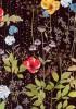【メルシー限定カラー】LIBERTYリバティプリント・国産タナローン生地 <Irma>(イルマ)【黒地】3633182-J18K