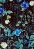 【メルシー限定カラー】LIBERTYリバティプリント・国産タナローン生地 <Irma>(イルマ)【黒地】3633182-J18L