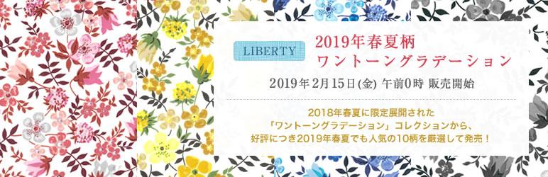 2019年春夏ワントーングラデーション