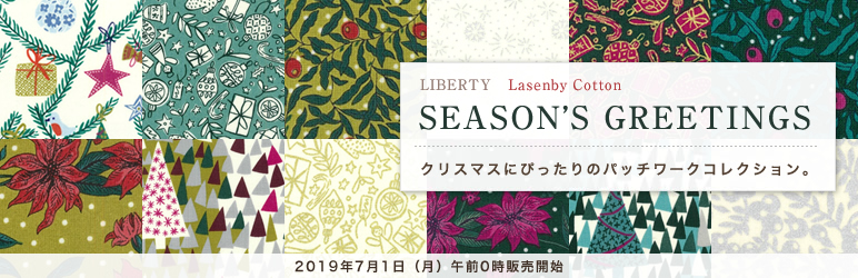 Lasenby Cotton SEASON'S GREETINGS
